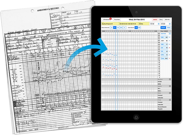 Smart Flow Sheet - software service for veterinarians